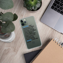 Load image into Gallery viewer, TGS - GATHER the WORDS iPhone Case