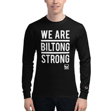 Load image into Gallery viewer, WE ARE BILTONG STRONG - Unisex Champion Long Sleeve Shirt