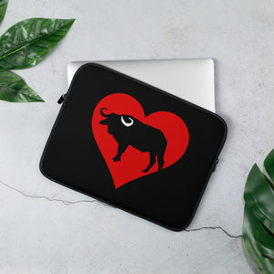 I HEART BILTONG Laptop Sleeve