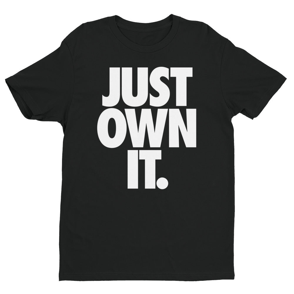JUST OWN IT - Short Sleeve T-shirt in Black