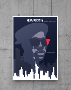 New Jack City by GOLDFINGER cs - Luxe Print on Paper