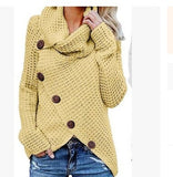 Casual Loose Turtleneck Knitted Jumpers