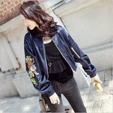 Winter Warm Embroidery Jacket