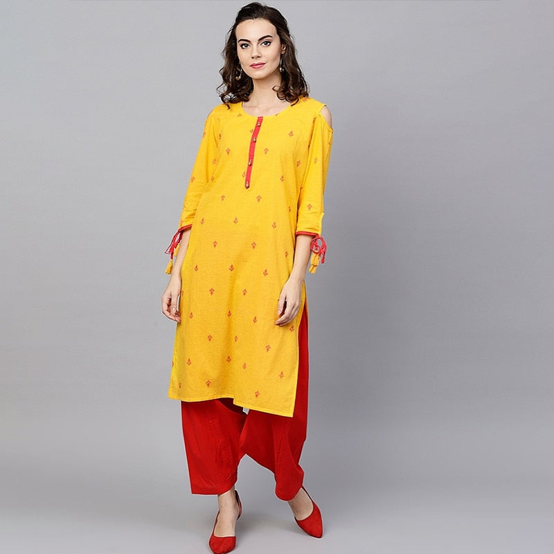 Indian Dress Cotton Kurta Long