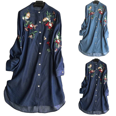 Elegant Embroidery Shirt