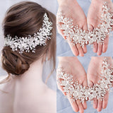 Bridal Flower Headband Hair Ornament