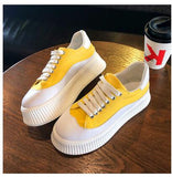Summer Spring Candy Color Canvas Shoes