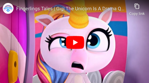 Watch Fingerlings Tales | Gigi The Unicorn Is A Drama Queen