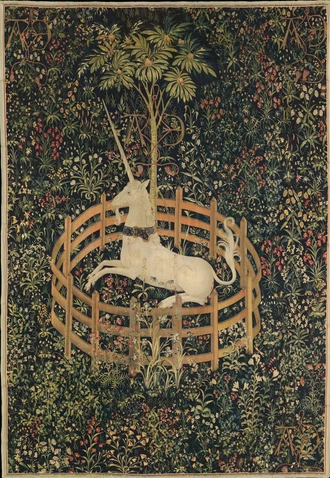 The Unicorn in Captivity - The Unicorn Tapestries