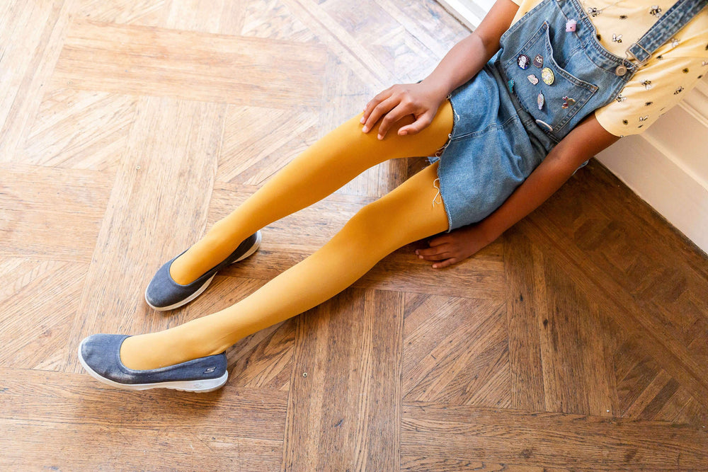 Tights - Kinder Strumpfhosen - Colonel Mustard