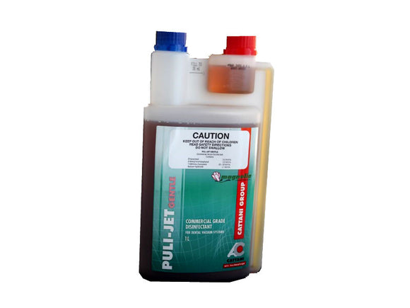 CATTANI PULI-JET GENTLE VACUM SYSTEM DISINFECTION 1L