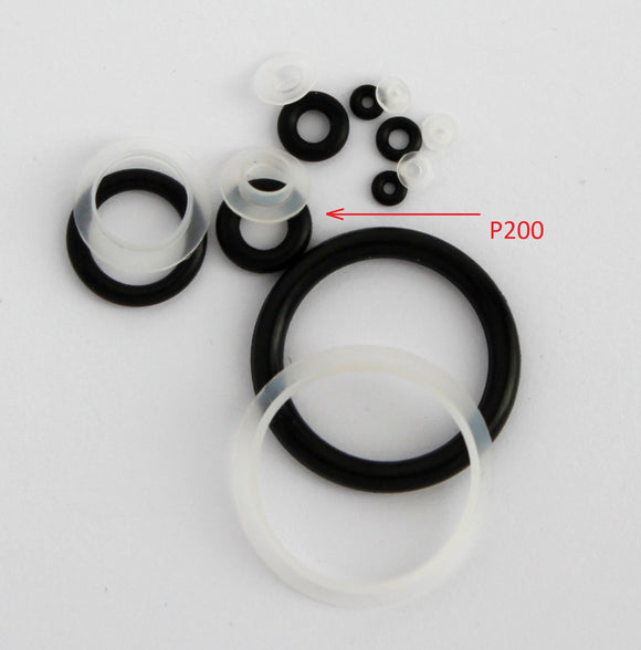 A200 Pack of 5 Seals and 5 O-rings