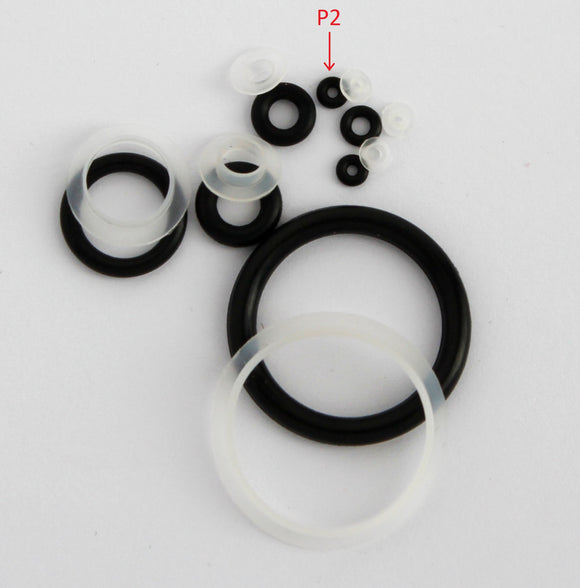 A2 Pack of 5 Seals and 5 O-rings