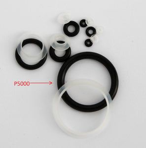 A5000. Pack of 5 Seals and 5 O-rings