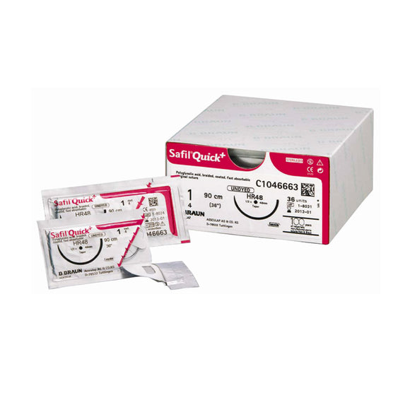Safil® Quick. Box of 36