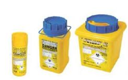 Terumo Sharps Containers with Screw Lid
