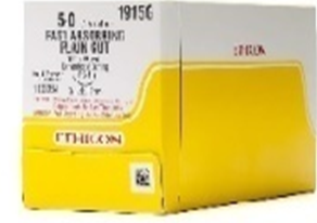 Ethicon. Plain Gut Suture.
