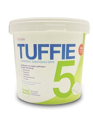 Tuffie5 Cleaning and Disinfecting Wipes