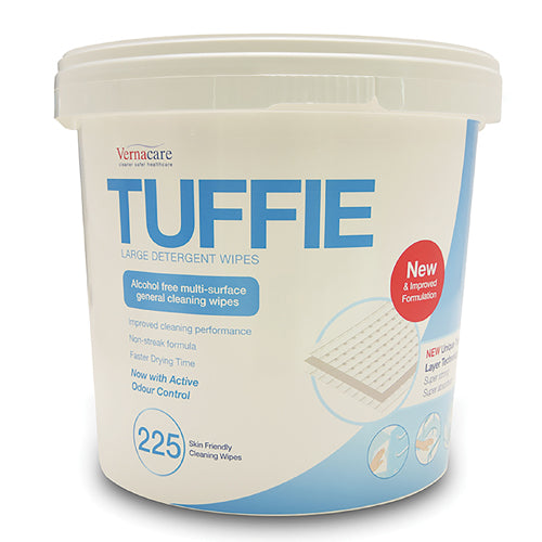 Tuffie Alcohol free detergent wipes