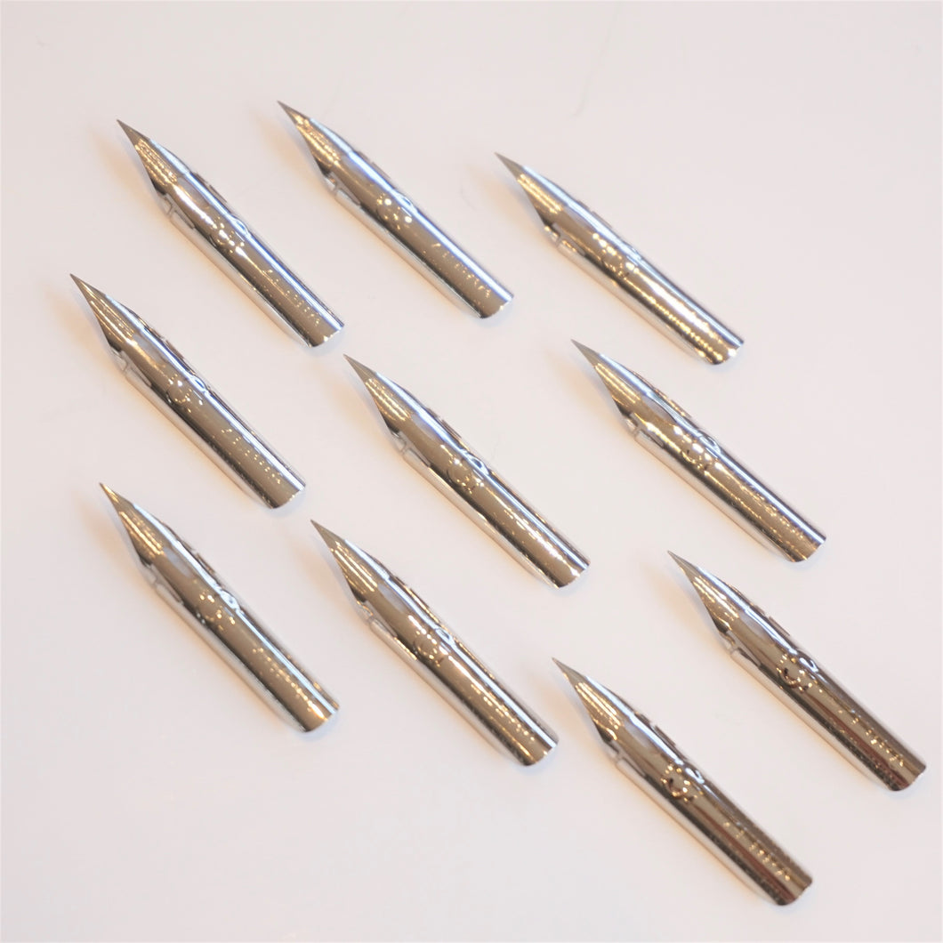 Zebra G Super Flex Steel Nib - Set of 10