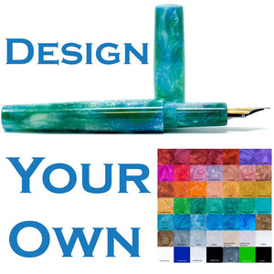 Design Your Own Loft Bespoke Custom Made Fountain Pen