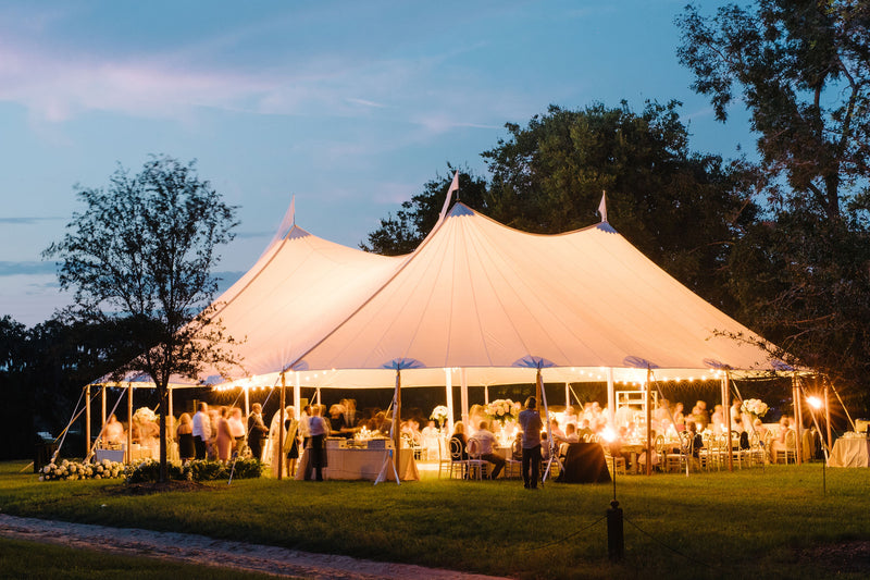 The Sailcloth Tent: Sophisticated & Stylish Shelter For Your Next Event