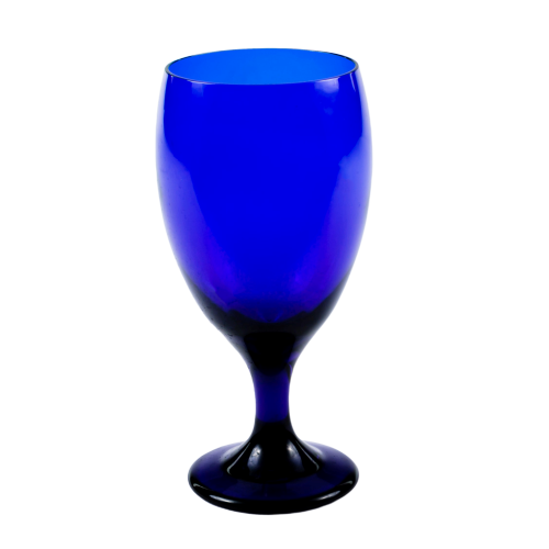 Blue Water Goblet