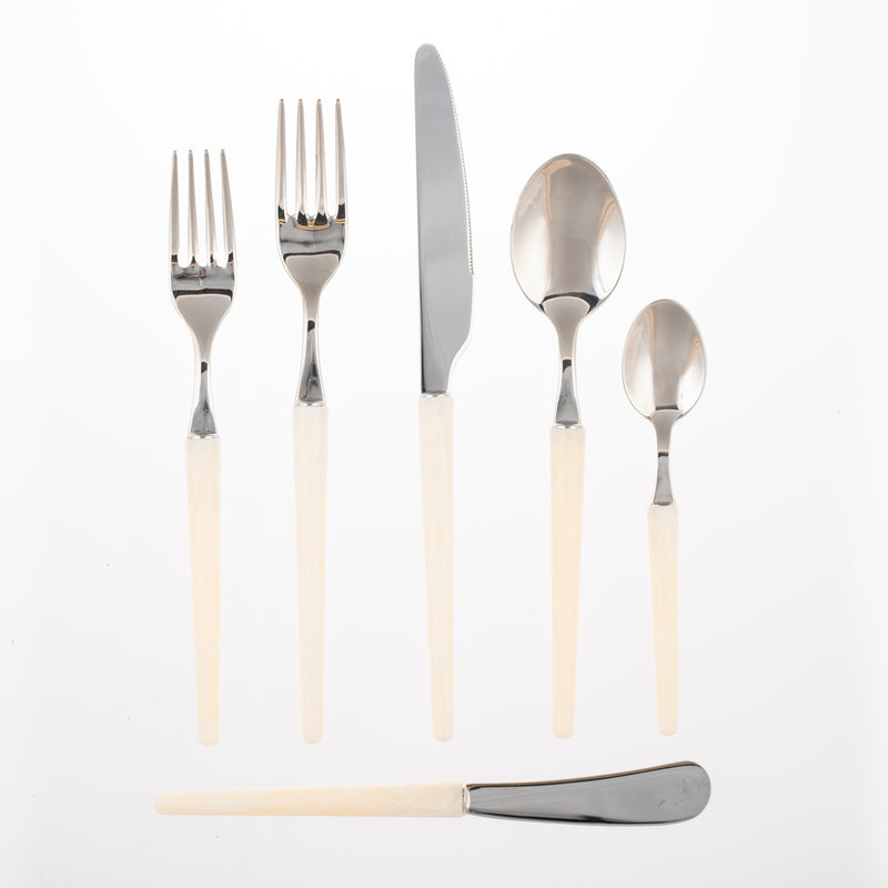 Bone Stiletto Flatware Collection