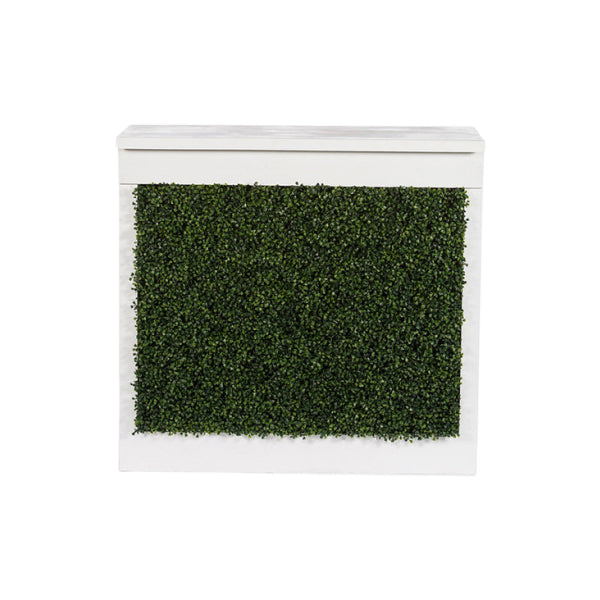 White Boxwood Chameleon Bar
