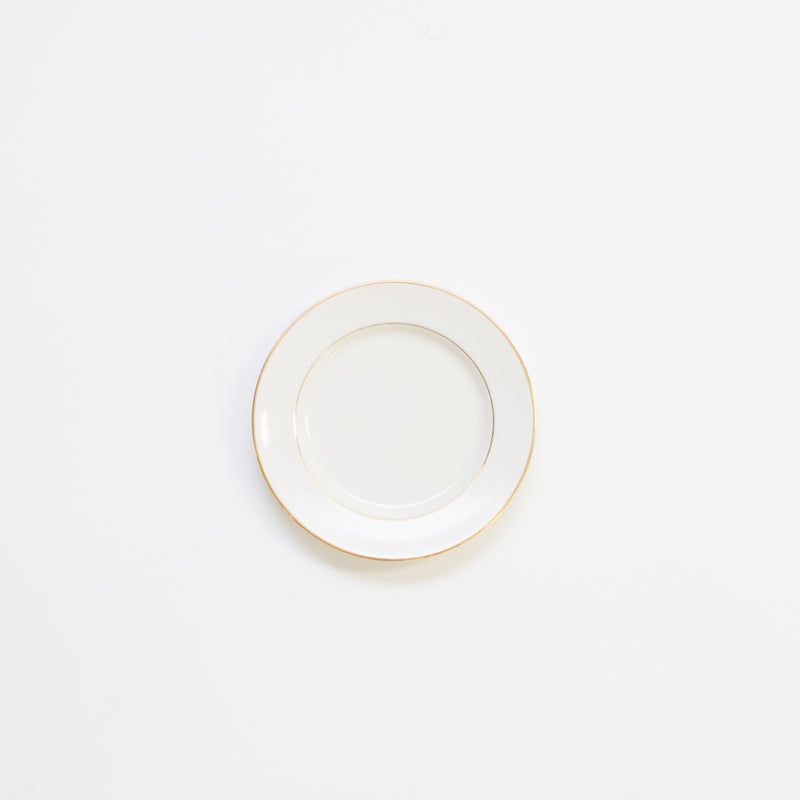 Ivory Gold Rim China Collection