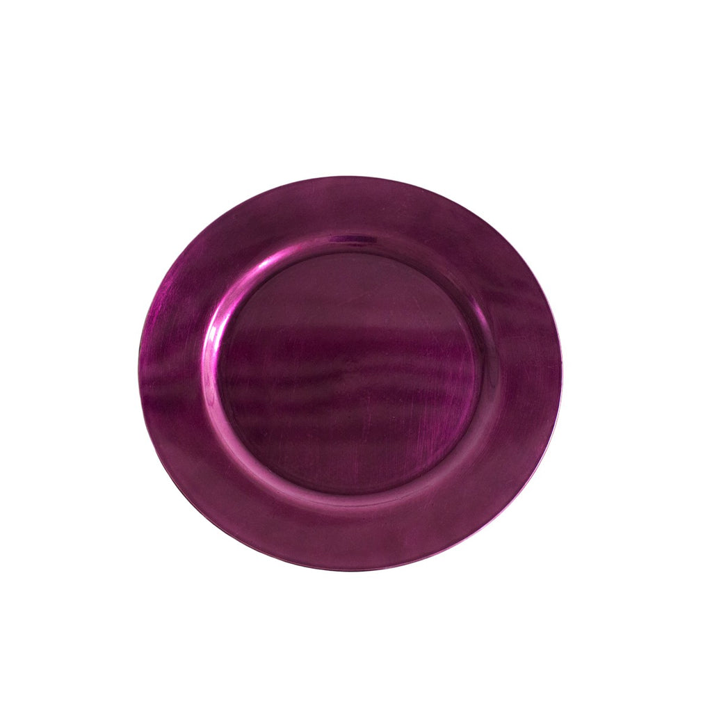 Purple Acrylic Charger