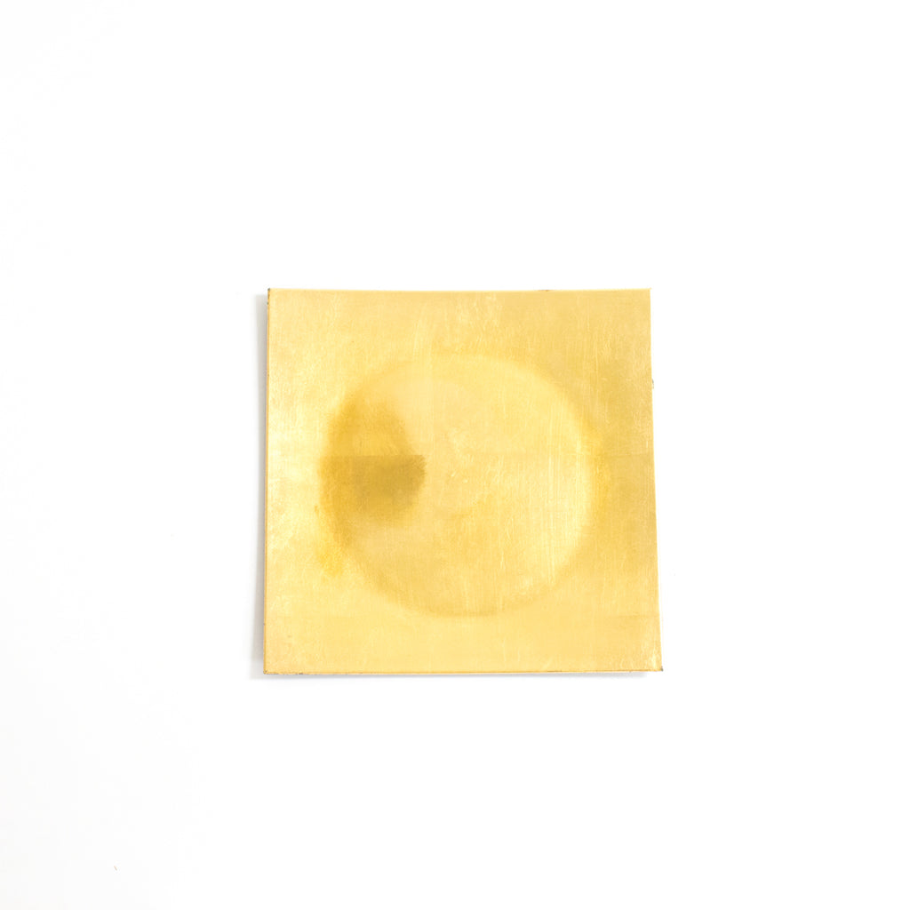Square Gold Acrylic Charger