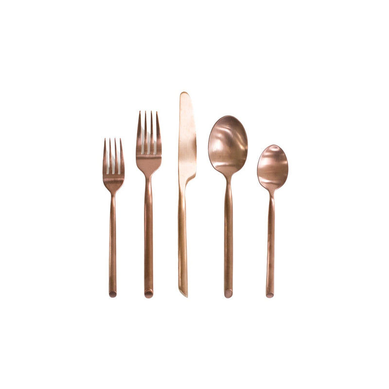 Capri Copper Flatware Collection