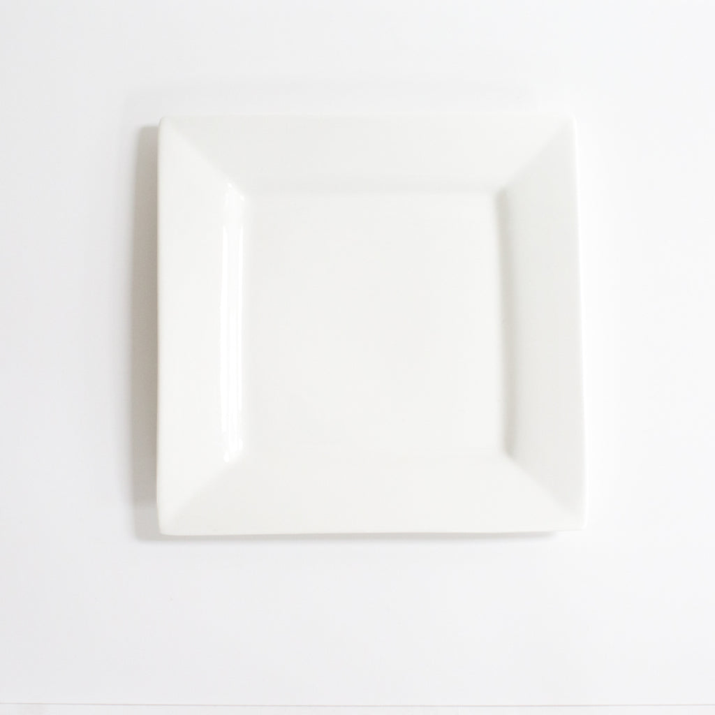 White Square Charger