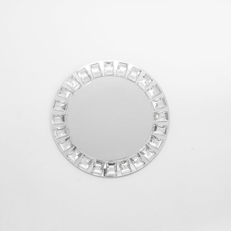 Beveled Mirror Glass Charger