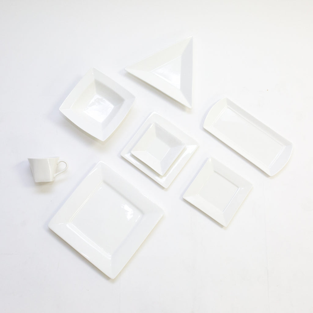 White Square China Collection
