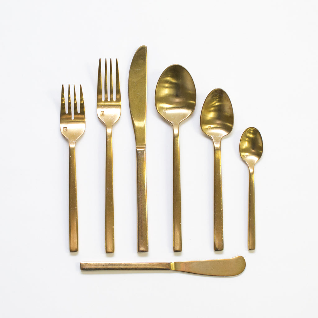 Arezzo Gold Flatware Collection