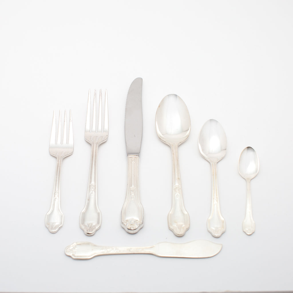 Falmouth Silver Flatware Collection