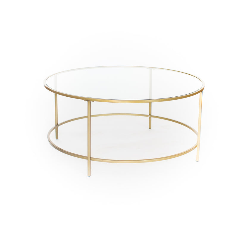 Addison Gold Coffee Table