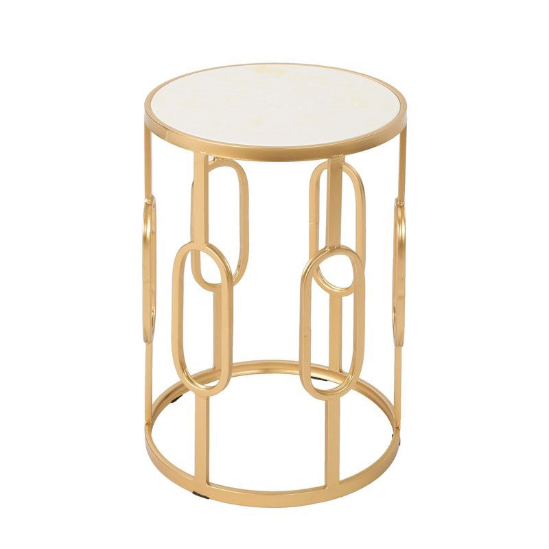 Gabby Gold End Table
