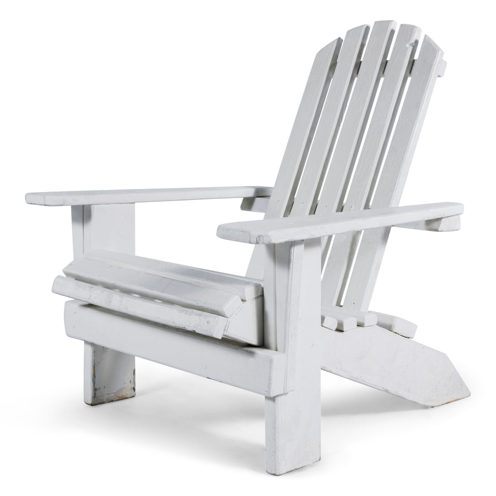 White Adirondack Chair