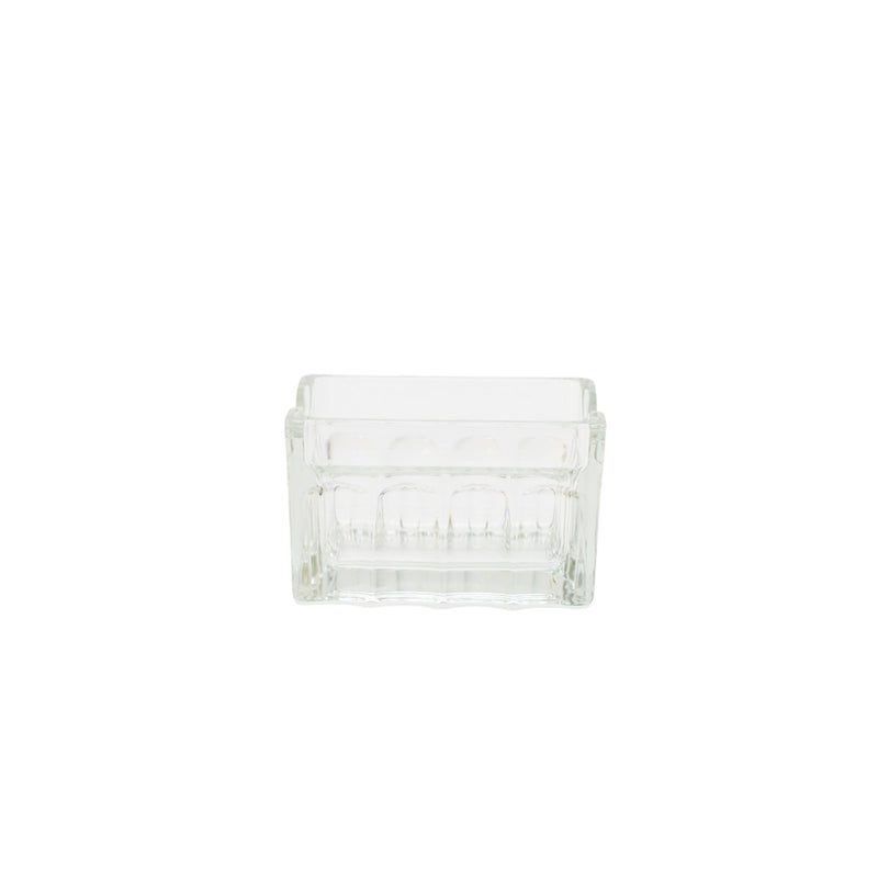 Clear Glass Sugar Caddie