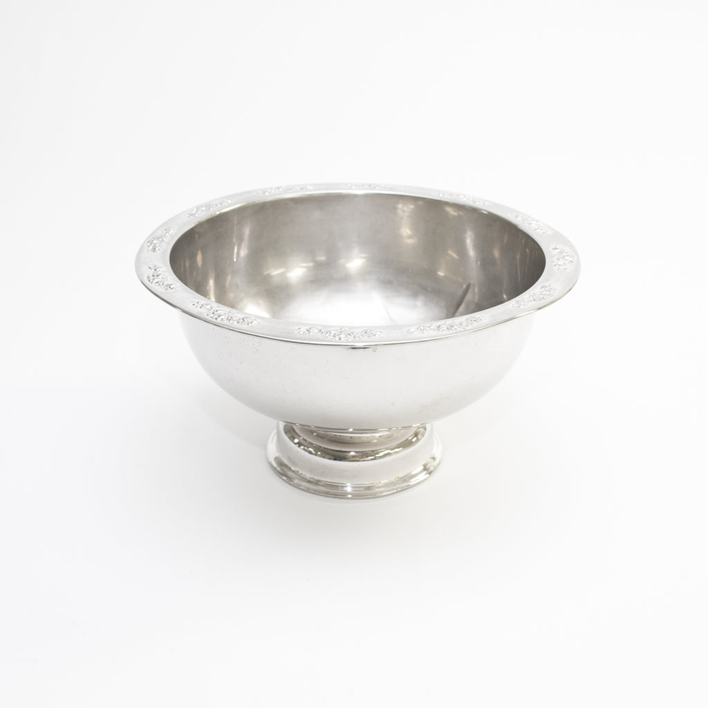 Silver Punch Bowl (4 Gallon)