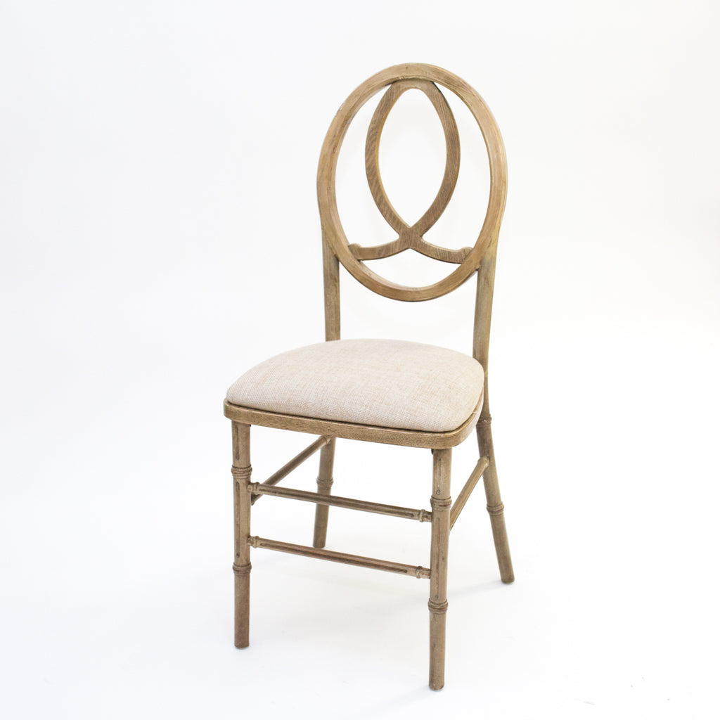 Antique Natural Infinity Chair