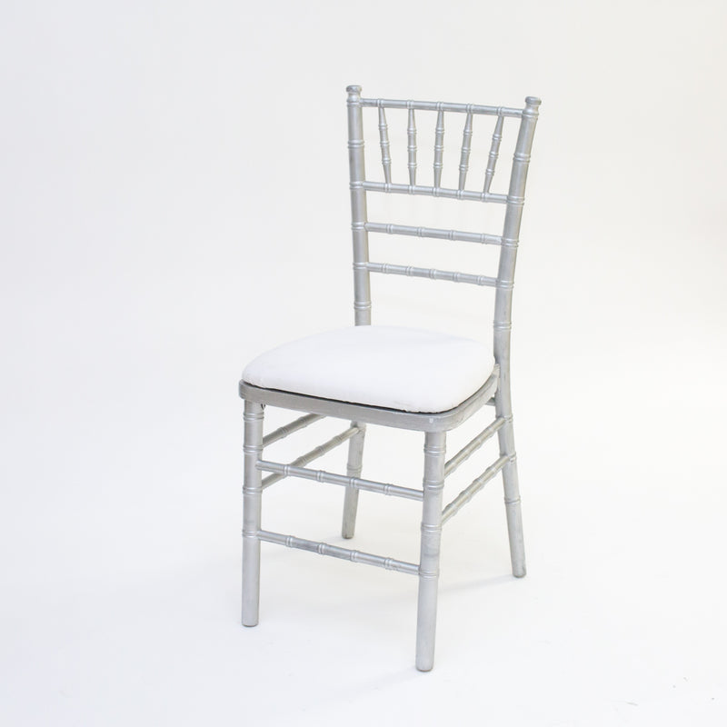 Silver Chivari Chair