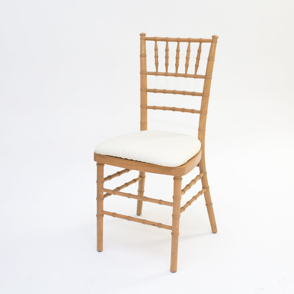 Natural Wood Chivari Chair