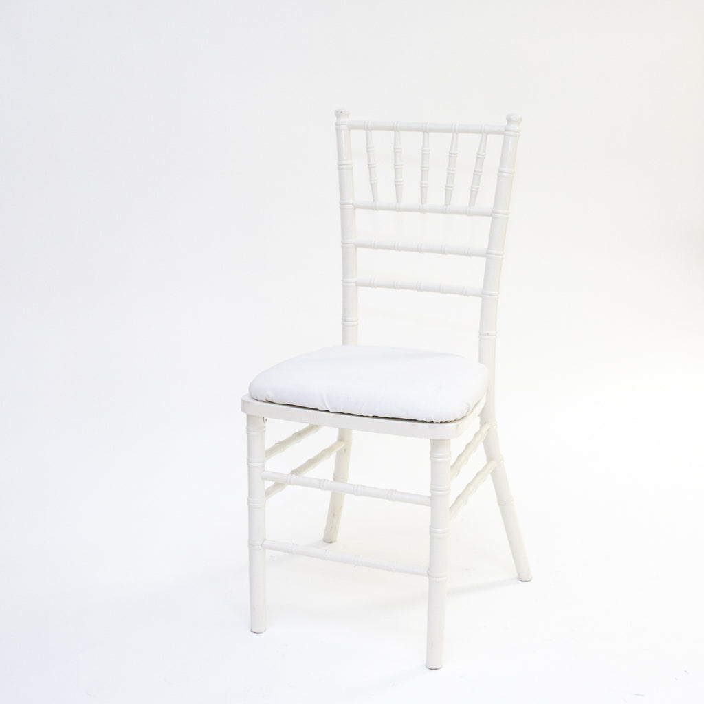 White Chivari Chair