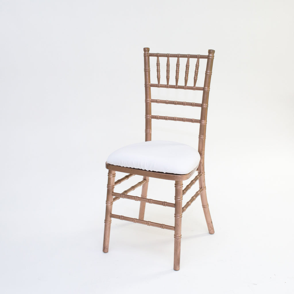 Rose Gold Chivari Chair