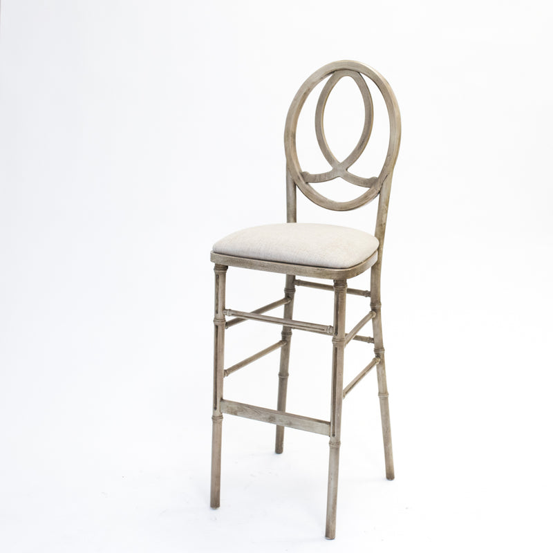 Antique Infinity Barstool