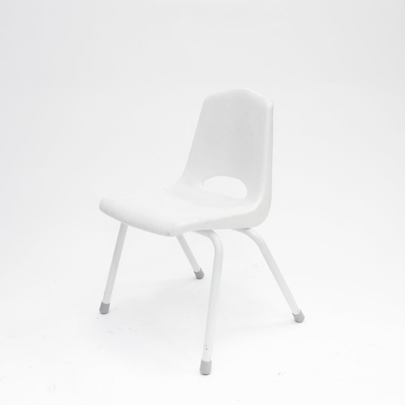 Children's White Chair